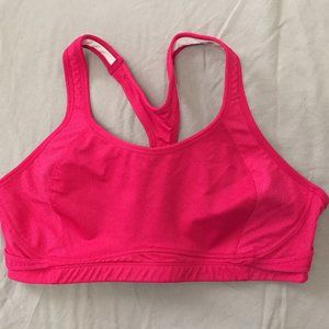 Bright Pink Sports Bra